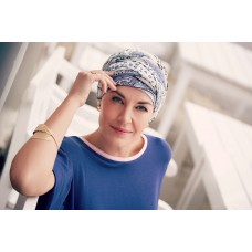 Karma Turban w. Headband- Printed