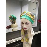 SALE Gwen- Green Hat